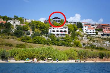 Smokvica, Pag, Property 4136 - Apartments with pebble beach.