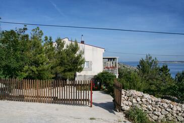 Smokvica, Pag, Objekt 4137 - Ubytování s oblázkovou pláží.