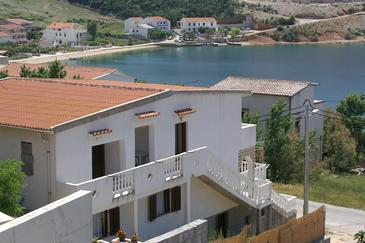 Metajna, Pag, Property 4150 - Apartments near sea with sandy beach.