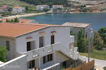 Metajna, Pag, Property 4150 - Apartments near sea with sandy beach.