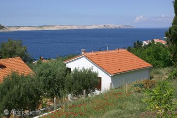 Stara Novalja, Pag, Objekt 4152 - Počitniška hiša v bližini morja s prodnato plažo.