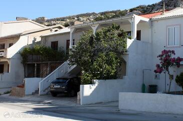 Metajna, Pag, Объект 4161 - Апартаменты вблизи моря с песчаным пляжем.