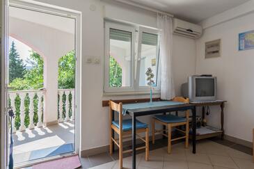 Rogoznica, Столовая в размещении типа apartment, доступный кондиционер и WiFi.