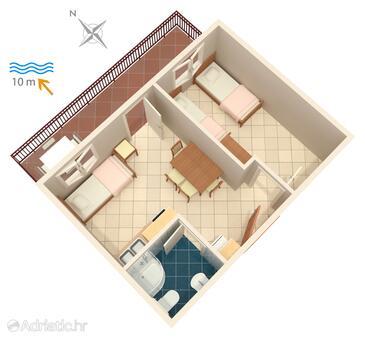 Bilo, План в размещении типа apartment, WiFi.