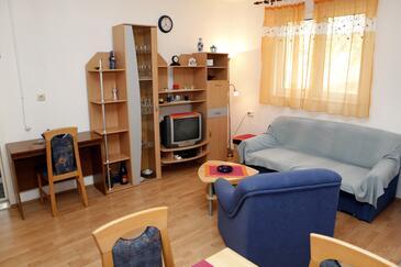 Vrgada, Гостиная в размещении типа apartment, доступный кондиционер и Домашние животные допускаются.