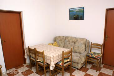 Rogoznica, Comedor in the apartment, WiFi.