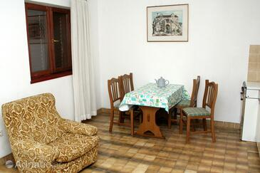 Zablaće, Dining room in the apartment, WIFI.