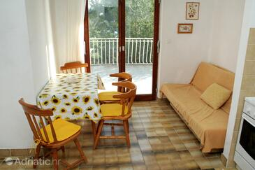 Zablaće, Dining room in the apartment, WIFI.