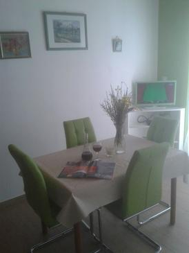 Rogoznica, Dining room in the apartment, WIFI.