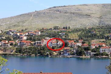 Grebaštica, Šibenik, Objekt 4254 - Ubytovanie blízko mora.