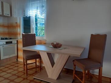 Žaborić, Столовая в размещении типа apartment, WiFi.