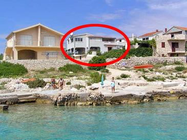 Sevid, Trogir, Property 4287 - Apartments near sea with pebble beach.