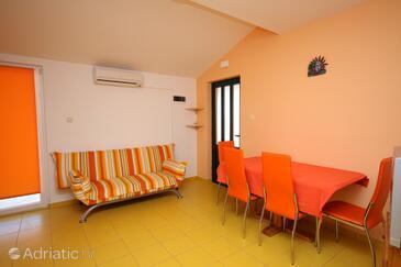 Jezera, Living room in the apartment, dostupna klima, dopusteni kucni ljubimci i WIFI.
