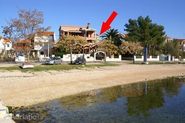 Turanj, Biograd, Property 4306 - Apartments near sea with pebble beach.