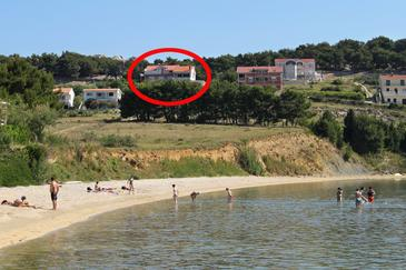 Vlašići, Pag, Obiekt 4319 - Apartamenty z piaszczystą plażą.