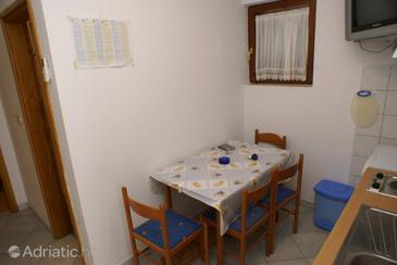 Okrug Gornji, Dining room in the apartment, WIFI.
