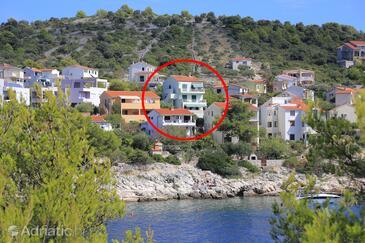 Ražanj, Rogoznica, Hébergement 4322 - Appartement à proximité de la mer.