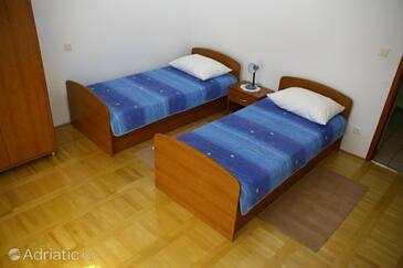 Grebaštica, Living room in the apartment.