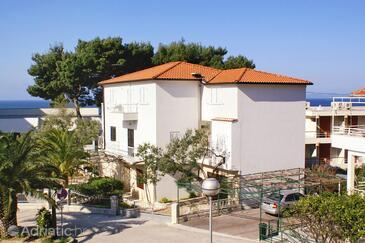 Podgora, Makarska, Objekt 4330 - Ubytování v blízkosti moře s oblázkovou pláží.