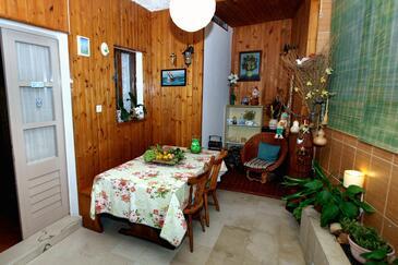 Podgora, Pokój dzienny w zakwaterowaniu typu house, WIFI.