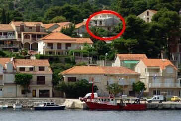 Brna, Korčula, Objekt 4333 - Ubytování v blízkosti moře.