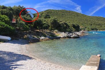 Tri Žala, Korčula, Object 4334 - Appartementen by the sea.