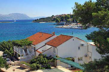 Lumbarda, Korčula, Объект 4348 - Апартаменты вблизи моря.