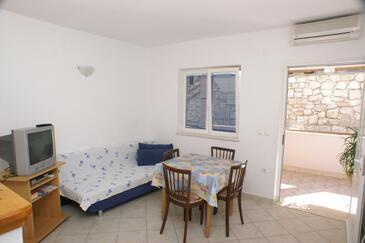 Korčula, Jedilnica v nastanitvi vrste apartment, Hišni ljubljenčki dovoljeni in WiFi.