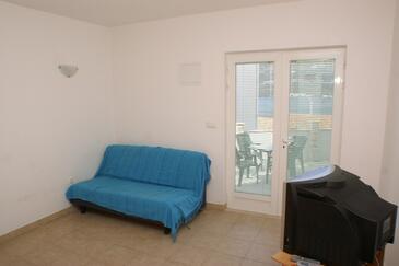 Korčula, Dnevna soba v nastanitvi vrste apartment, Hišni ljubljenčki dovoljeni in WiFi.