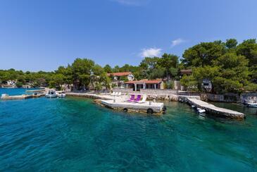 Lavdara, Dugi otok, Property 435 - Apartments by the sea.