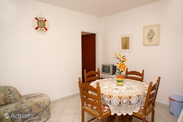 Brna, Dining room in the apartment.