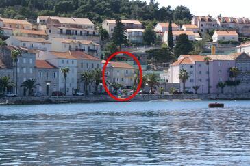Korčula, Korčula, Objekt 4356 - Apartmaji in sobe v bližini morja s prodnato plažo.