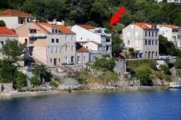 Račišće, Korčula, Obiekt 4360 - Kwatery przy morzu.