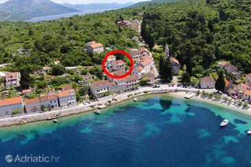 Račišće, Korčula, Property 4362 - Apartments near sea with pebble beach.