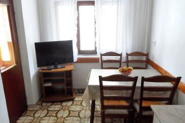 Lumbarda, Dining room in the apartment, WIFI.
