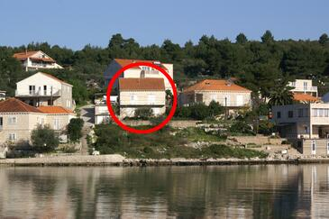 Lumbarda, Korčula, Objekt 4369 - Ubytovanie blízko mora.