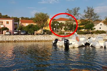 Veli Rat, Dugi otok, Objekt 437 - Ubytování v blízkosti moře.