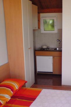 Korčula, Kitchen in the studio-apartment, WIFI.