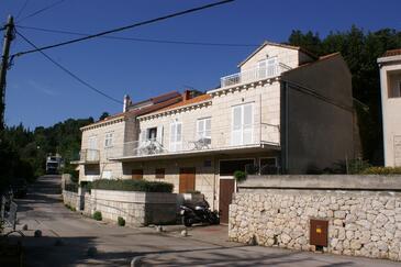 Korčula, Korčula, Objekt 4374 - Apartmaji s prodnato plažo.