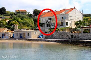 Lumbarda, Korčula, Объект 4378 - Апартаменты вблизи моря с песчаным пляжем.