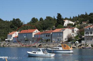 Račišće, Korčula, Property 4379 - Rooms near sea with pebble beach.
