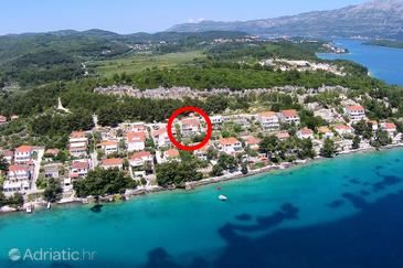 Lumbarda, Korčula, Property 4383 - Apartments by the sea.