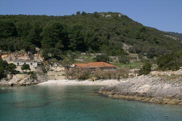 Rasohatica, Korčula, Hébergement 4386 - Appartement à proximité de la mer avec une plage de galets.