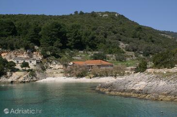 Rasohatica, Korčula, Obiekt 4386 - Apartamenty przy morzu ze żwirową plażą.