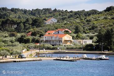 Lumbarda, Korčula, Objekt 4393 - Ubytování v blízkosti moře s oblázkovou pláží.