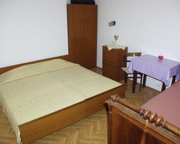 Luka, Spálňa v ubytovacej jednotke room, dopusteni kucni ljubimci i WIFI.