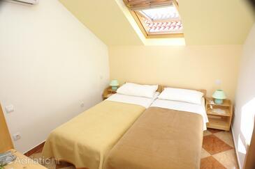 Korčula, Bedroom in the room.