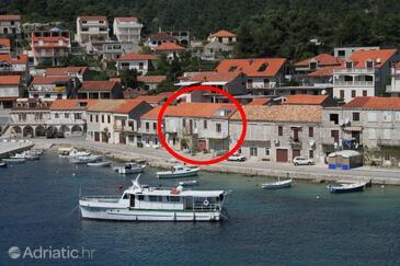 Brna, Korčula, Objekt 4415 - Apartmani blizu mora sa pješčanom plažom.