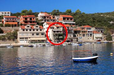 Zavalatica, Korčula, Property 4419 - Apartments by the sea.
