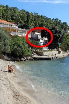 Brna, Korčula, Objekt 4425 - Ubytovanie blízko mora.